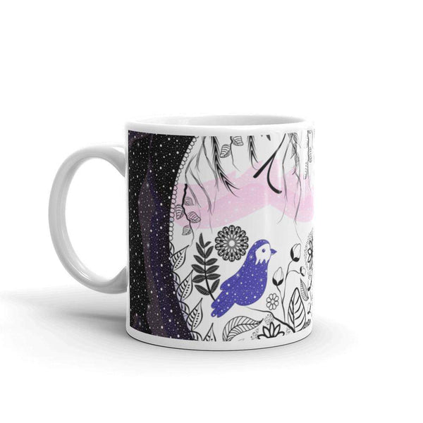 Nature and Galaxy Mug-famenxt