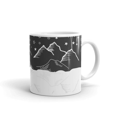 Mountains and sky Mug - famenxtshop