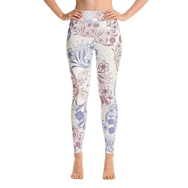 Royal Yoga Leggings-famenxt