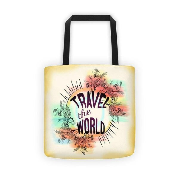 Travel the world Tote bag-tote bags-famenxt