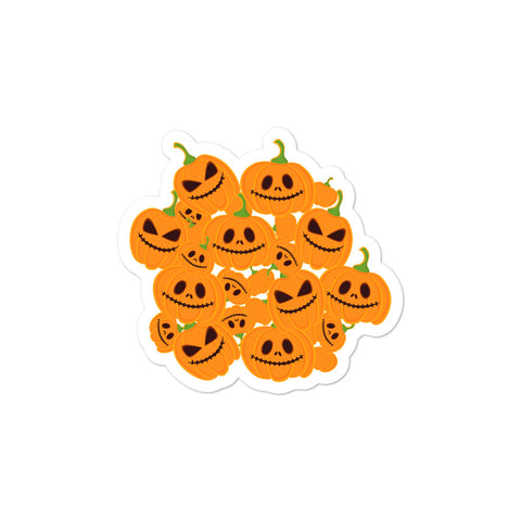 Scary Pumpkins Bubble-free stickers-famenxt