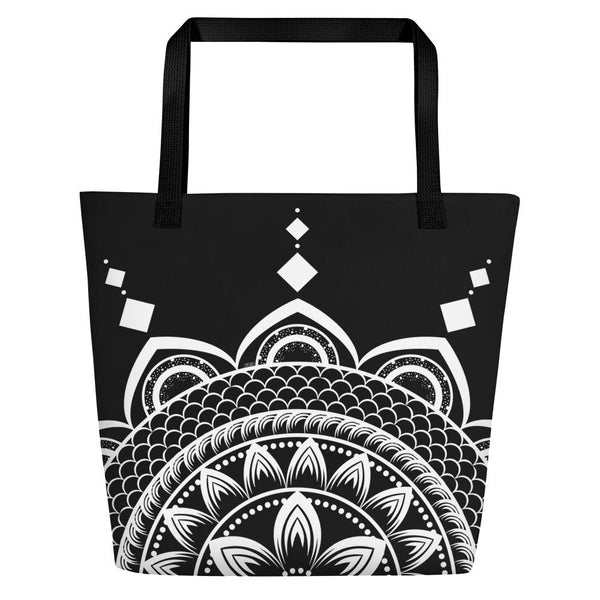 Mandala from my15bohemianart Collection Beach Bag-famenxt