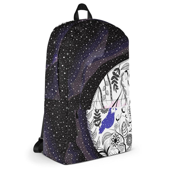 Universe and Earth Backpack-famenxt