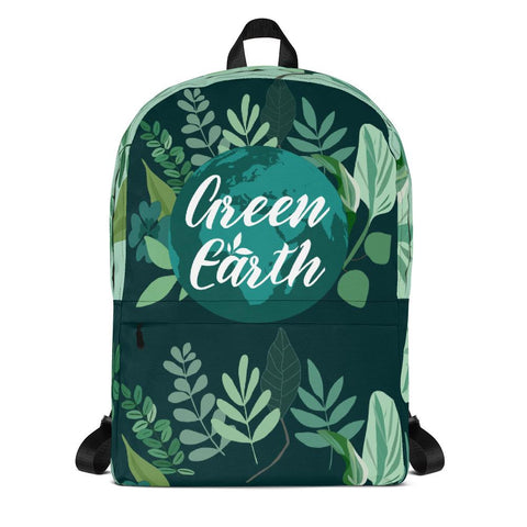 Green Earth Backpack From Save the Mother Earth Collection - famenxtshop