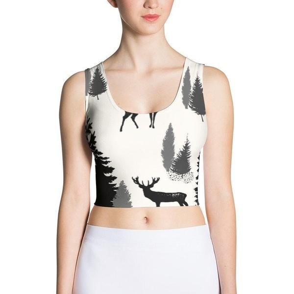 Jungle Sublimation Cut & Sew Crop Top-famenxt
