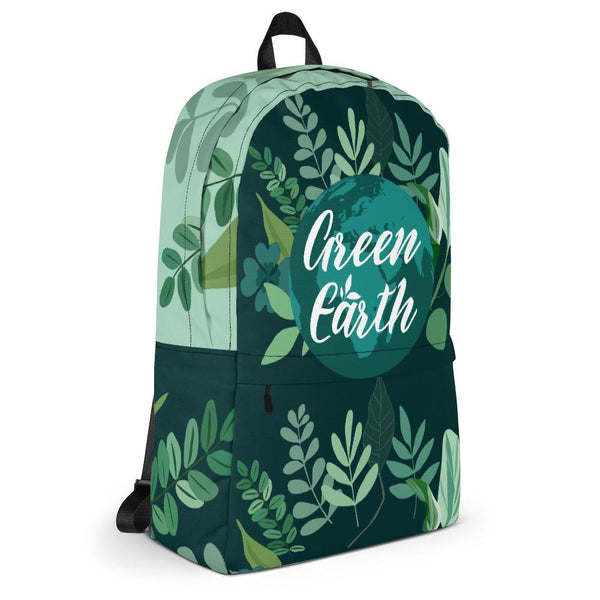 Green Earth Backpack From Save the Mother Earth Collection-famenxt