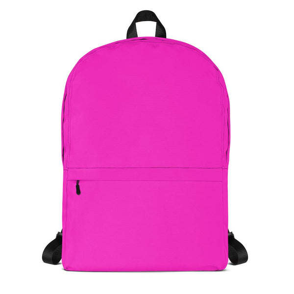 Hot Magenta Backpack from Solid Color Series-famenxt