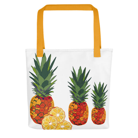 Pineapples Tote bag-famenxt