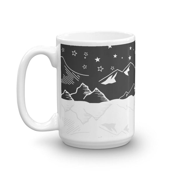 Mountains and sky Mug-famenxt