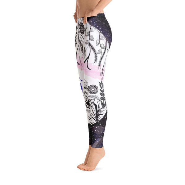Nature in Space Leggings-famenxt