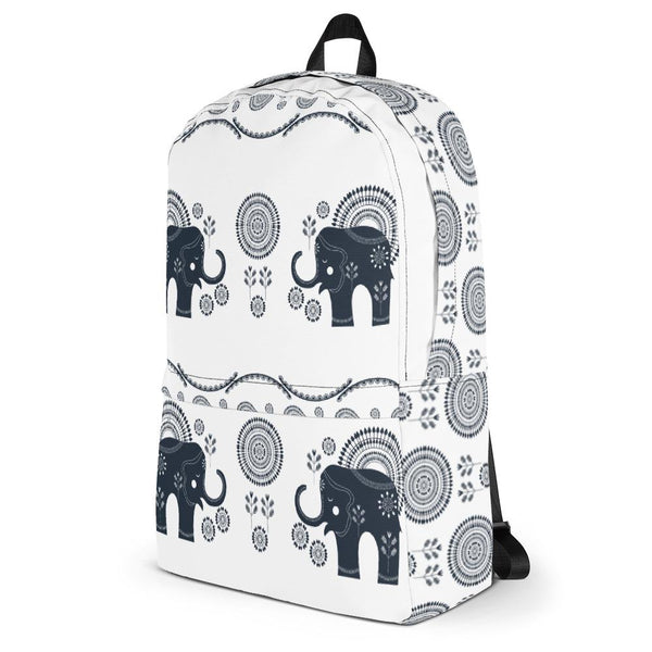 Bohemian Elephants from my15bohemianart Collection Backpack-famenxt