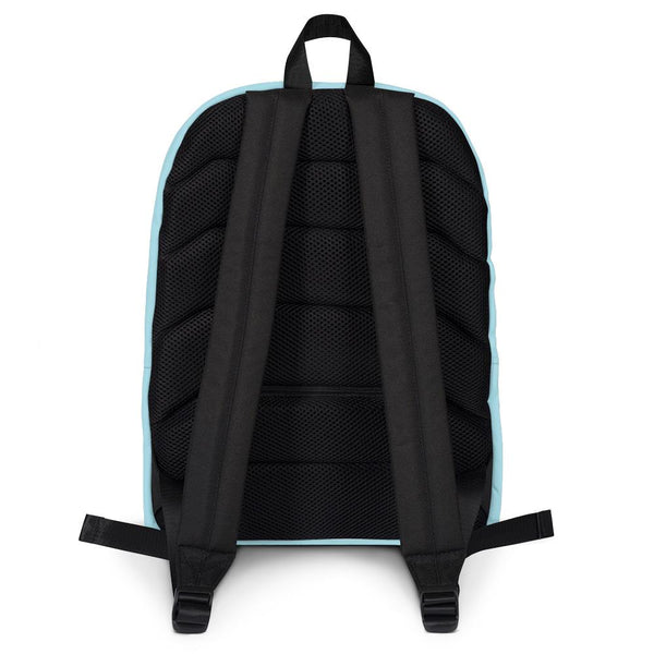 Pastel Blue Backpack from Solid Color Series-famenxt
