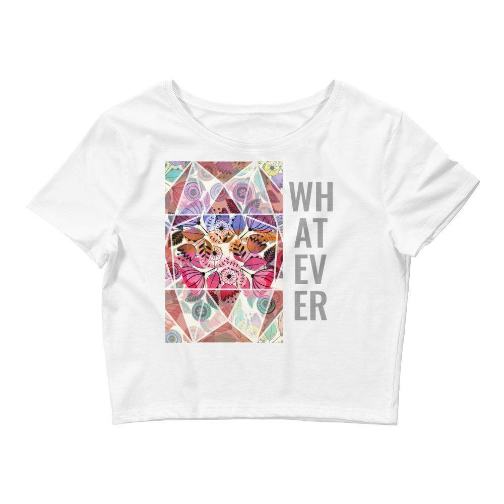 Whatever Women's Crop Tee-famenxt