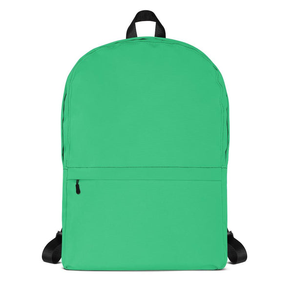 Bright Green Backpack from Solid Color Series-famenxt