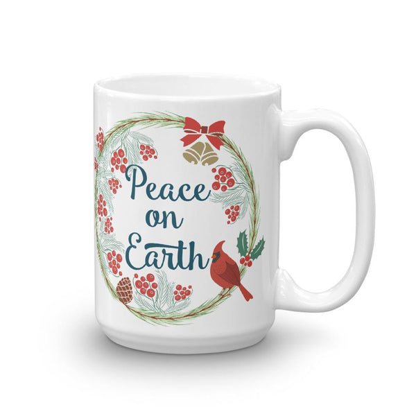 Peace on Earth Christmas Mug-famenxt