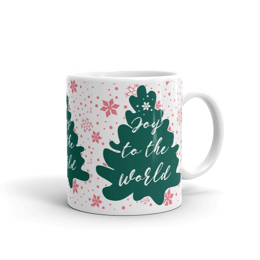 Joy to the World Christmas Mug-famenxt