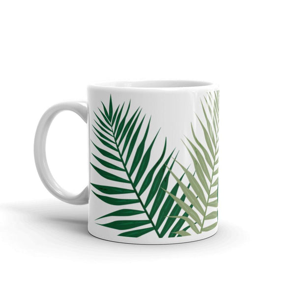 Tropical Palm Monstera Mug-famenxt