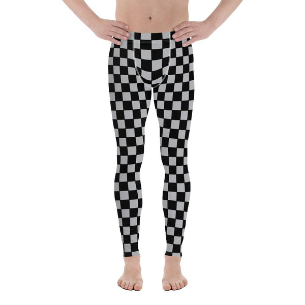 Checkers Men Sportswear Leggings-famenxt