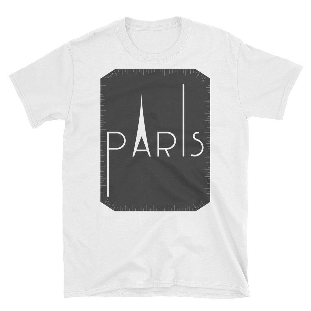 Paris Short-Sleeve T-Shirt-famenxt