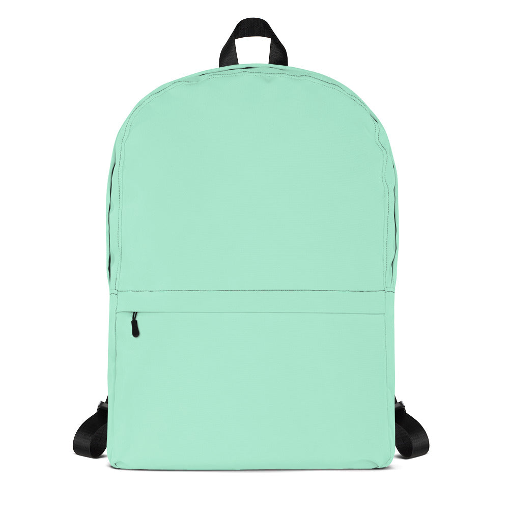 Mint Green Backpack from Solid Color Series-famenxt