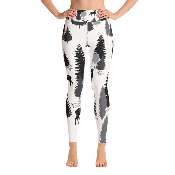 Jungle vibes Yoga Leggings-famenxt