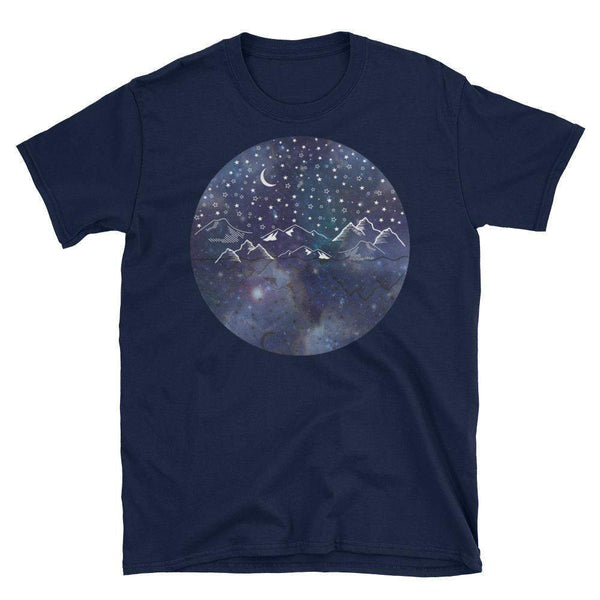 Starry Night Short-Sleeve Unisex T-Shirt-famenxt