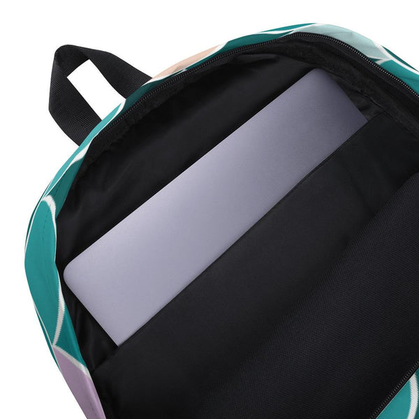 Teal Mermaid Backpack-famenxt