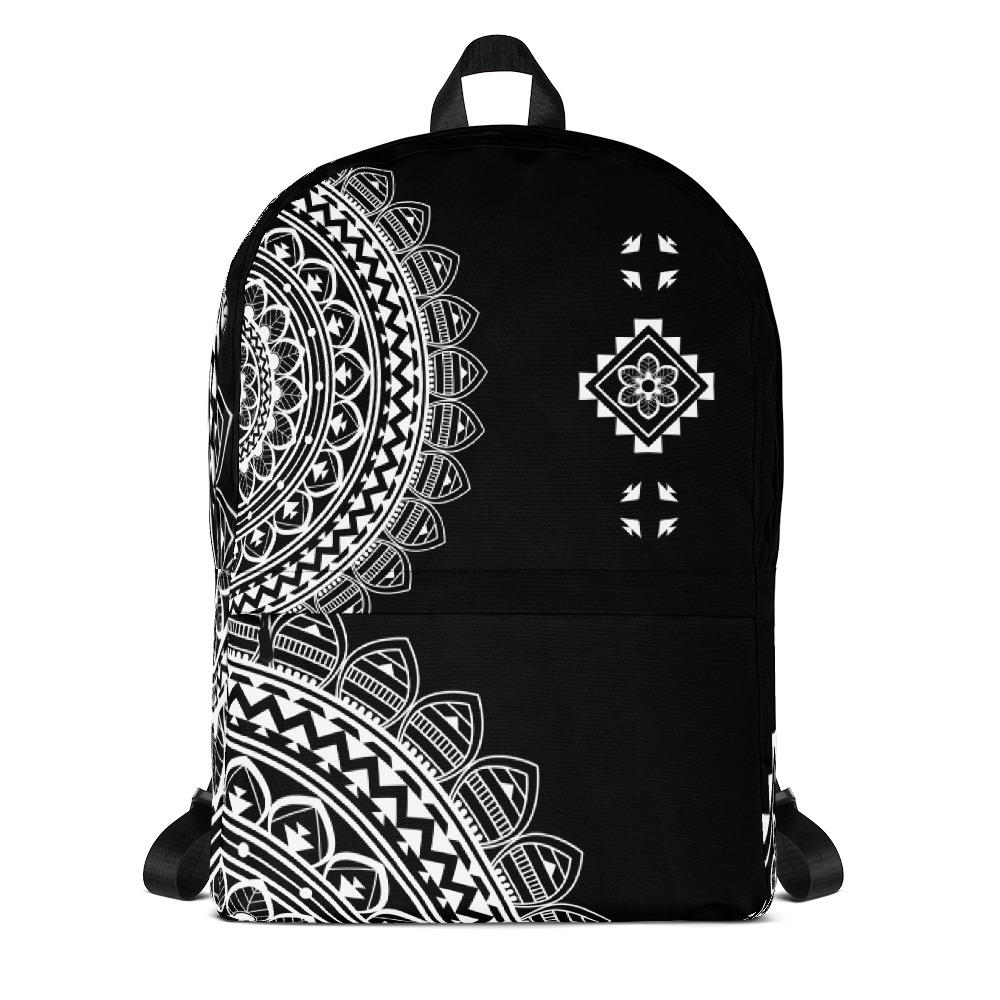 Half Mandala from my15bohemianart Collection Backpack-famenxt