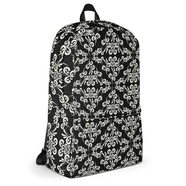 Ornate Lace from my15bohemianart Collection Backpack-famenxt