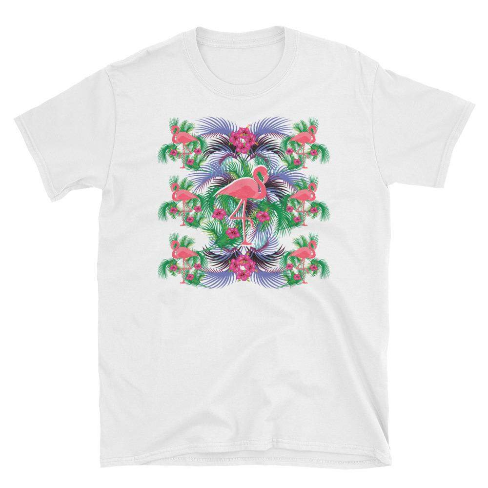 Flamingo Short-Sleeve T-Shirt-famenxt
