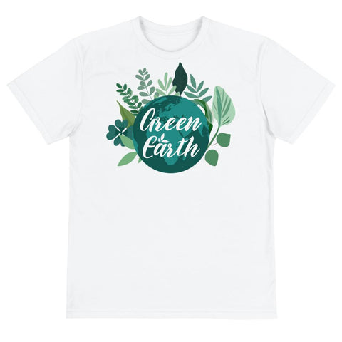 Green Earth Unisex Eco Tee From Save the Mother Earth Collection-famenxt