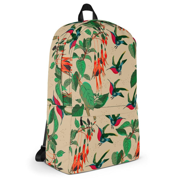 From mybirdparadise Collection The Hummingbirds Backpack-famenxt