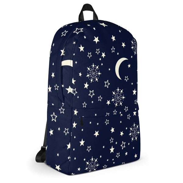 Blue Galaxy Backpack-famenxt