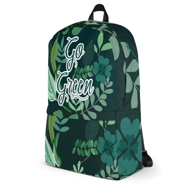 Go Green Backpack From Save the Mother Earth Collection-famenxt