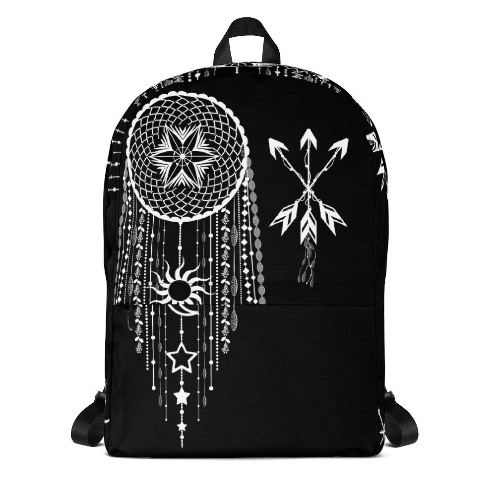 Bohemian Hanging Dreamcatcher from my15bohemianart Collection Backpack-famenxt