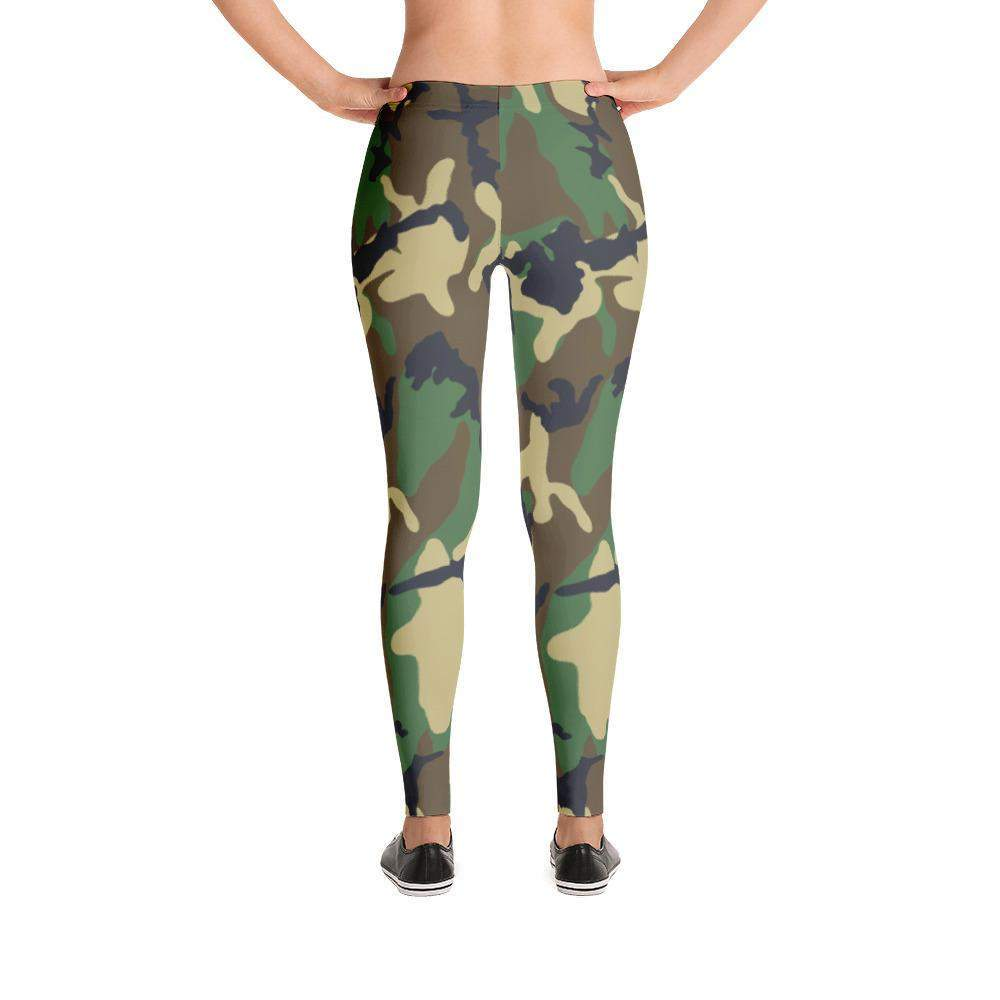 Military Camouflage Leggings-famenxt