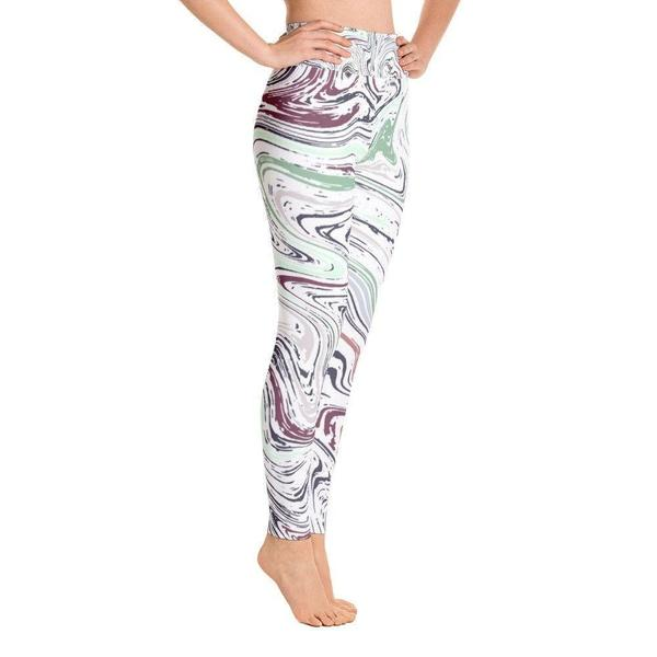 Marble Yoga Leggings-famenxt