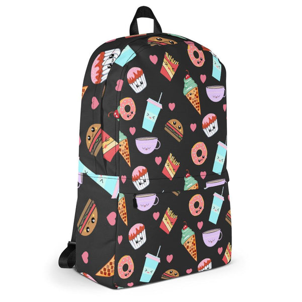 Good Food Good Mood Backpack-famenxt