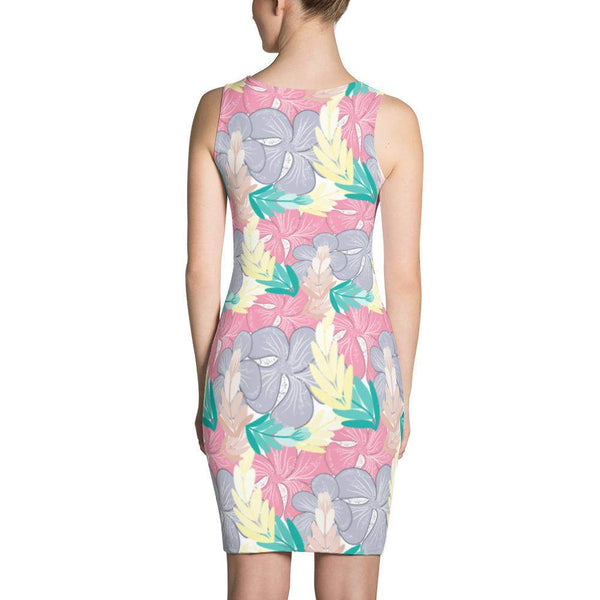 Sweet Floral Dress-famenxt
