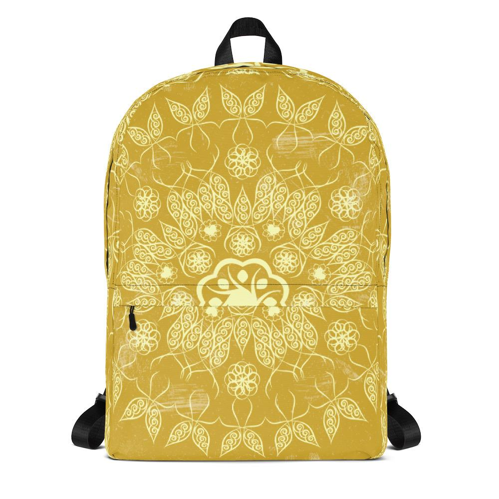 Golden Mandala Backpack-famenxt