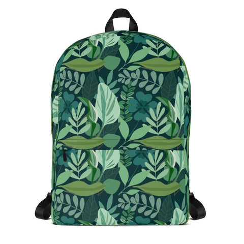 Green Jungle Backpack From Save the Mother Earth Collection-famenxt