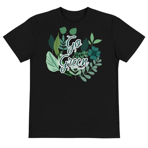 Go Green Unisex Eco Tee From Save the Mother Earth Collection-famenxt