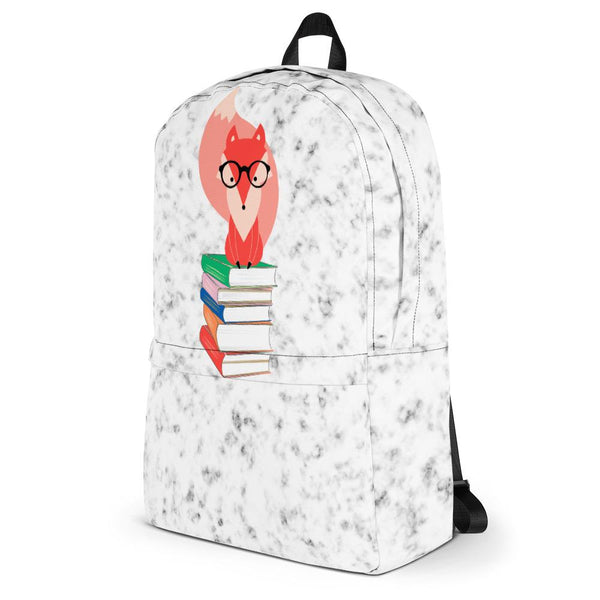 Fox Books and Marble Backpack-famenxt