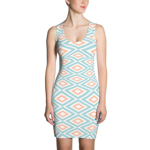 Soft pastel pattern Dress-famenxt