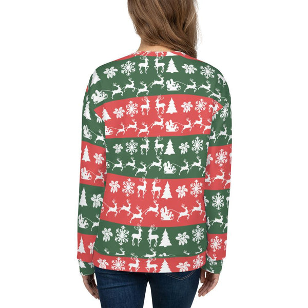 Red Green Christmas Sweatshirt-famenxt
