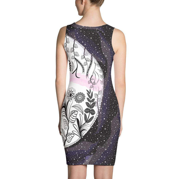 Galaxy and Jungle Dress-famenxt