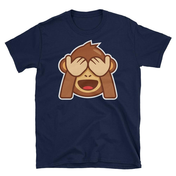 See No Evil Monkey Short-Sleeve T-Shirt-famenxt