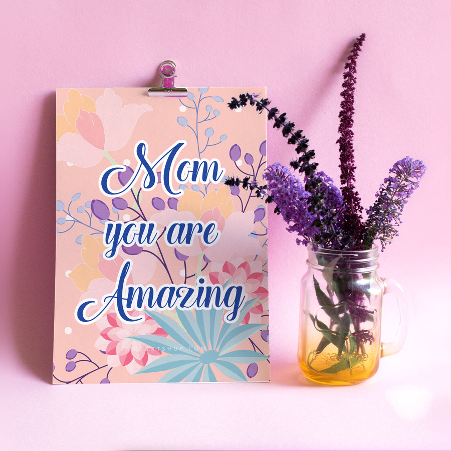 Printable for Mom, Instant download, Mother's day special, Mom you are awesome-Calendar Digital Download-famenxt
