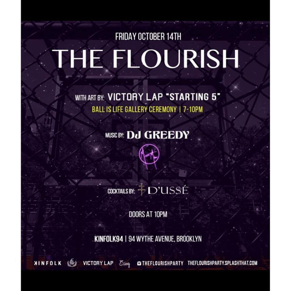 """The Starting Five"" w/ VictoryLap Art Show"