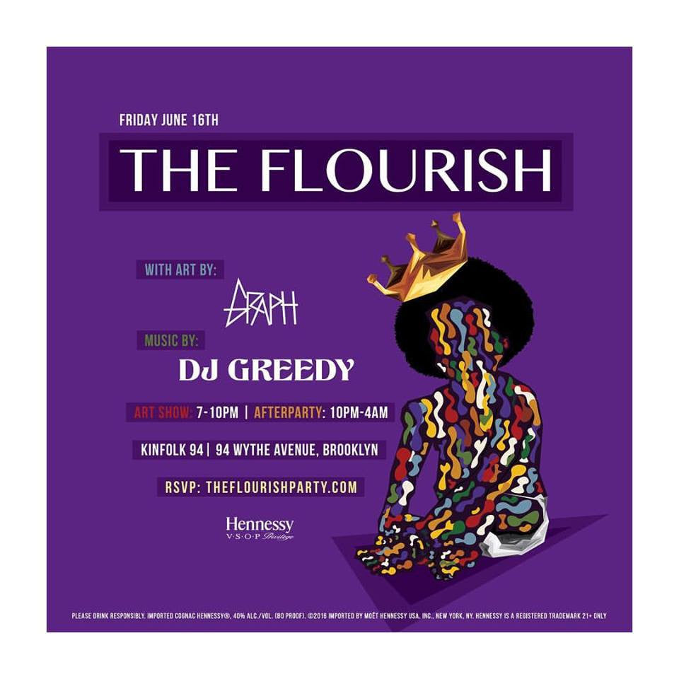 Art Show Collab w/ The Flourish Party